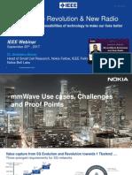 5GmmWave Webinar IEEE Nokia 09-20-2017 Final