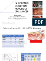2. EARLY CRC (Peran Bedah Dokter Dalam Diagnosis Dini Karsinoma Kolo-rectal ) Prof.dr.Dr. Ing.riwanto, SpB-KBD