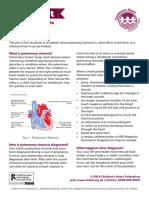 Pulmonary Stenosis Factsheet 2