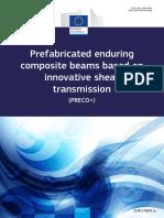 Prefabricated enduring composite beams based on nnovative shear transmission