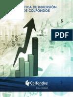 Políticas de Inversión