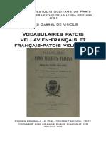 Jules Gabriel DE VINOLS, Vocabulaires patois vellavien-français et français-patois vellavien.pdf
