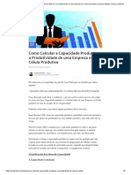 Como Calcular a Capacidade Produtiva e a Produtividade de Uma Empresa Ou Célula Produtiva _ Osmair Matias _ Pulse _ LinkedIn