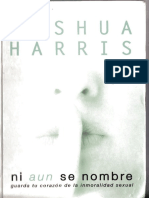 Ni Aún Se Nombre (Cropped)- Joshua Harris