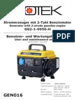 Manual Generator 650