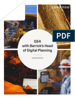 Q&A Barrick Head Digital Planning
