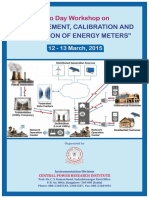 Workshop on Energy Meters 2-3-15