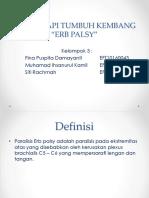 Kelompok 3 Erb Palsy, Fix