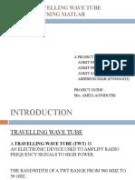 O-TYPE TRAVELLING WAVE TUBE DESIGNING USING MATLAB