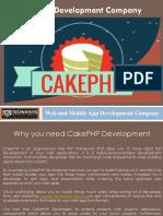 Cake PHP Development Services - Dev Technosys Pvt. Ltd.