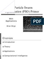 A Particle Swarm Optimization (PSO) Primer