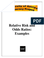B Relative Risk and Odds Ratios Examples