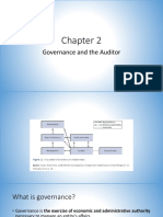 Chapter 2. Governance and the Auditor