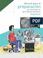 Manual Preparacion de Materiales de Aprendizaje Autónomo