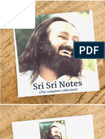 Sri Sri Notes