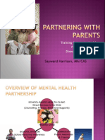 Partnering With Parents and DBR