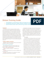Debate Training Guide