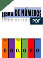 Libro Movil Numeros Mio