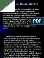 The Indian Retail Market By hemanthkumar