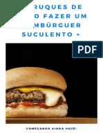 5 Truques Como Fazer Um Hambúrguer Suculento