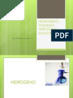 Hidrogeno Oxigeno Nitrogeno Soluciones