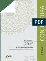 Atividade Economica do Brasil 2016