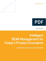 BOM Management for Todays Product Innovations