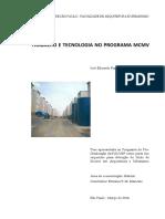 BARAVELLI, J. Trabalho e Tecnologia No PMCMV. Tese