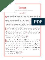 Doxologie - Nectarie Schimonahul (Gl.3)