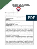 Informe Mesa Mayo y Auxiiar
