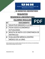 Cronograma Convocatoria Residencia 2018.