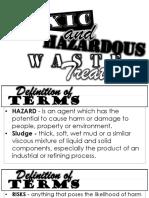 Toxic and Hazardous