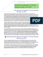 Peter Linz Theory Of Computation Pdf