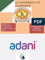Adani group strategies