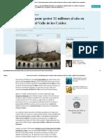 VALLE de LOS CAÍDOS - El PSOE Propone Gastar 21 Millones Al Año en Transformar El Valle de Los Caídos - España - Diario La Informacion