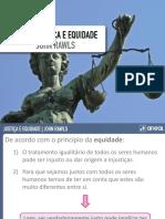 Justiça e Equidade - Rawls