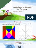Fracciones Utilizando El Tangram