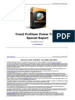 Trend Profiteer Power Trends Special Report