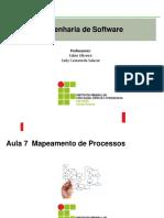 ESW - Aula 7 - Mapeamento de Processos