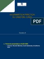 Gramatica II - 18 Gramatica Practica - Caso Del Caso