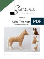 StuffTheBody Abby the Horse Amigurumi Pattern v01