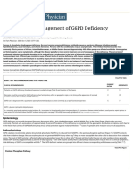 Diagnosis and Management of G6PD Deficiency - American Family Physician