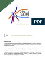 Plano de Desenvolvimento Social e Plano de a o 2015