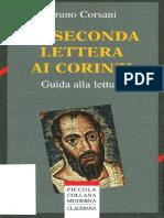Bruno Corsani La Seconda Lettera Ai Corinzi