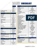 Ryanair Checklist