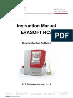 ERAFLASH 8 Manual Abstract 82001