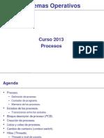 0025 Sistemas Operativos Procesos