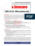 Data Structure Study Notes for IBPS SO IT officer- Team MME.pdf