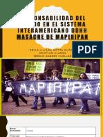 Responsabilidad Del Estado en El Sistema Interamericano Ddhh
