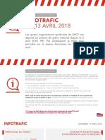 Infotrafic SNCF 13 Avril 2018